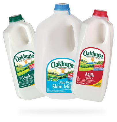 Oakhurst Milk Gallons