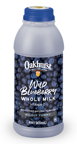Wild Blueberry milk.For the Wild in all of us.